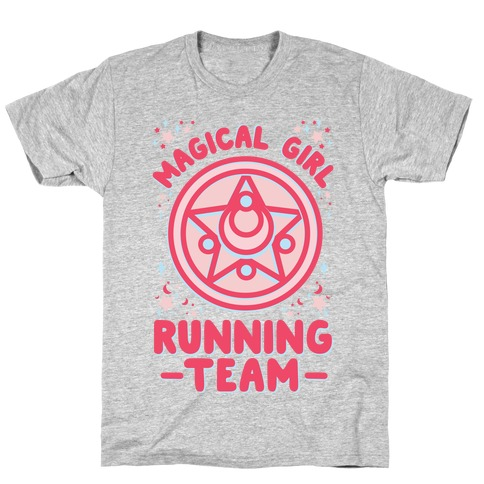 Magical Girl Running Team T-Shirt