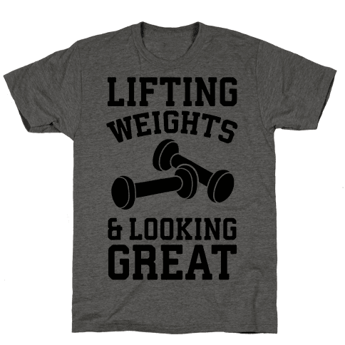 Lifting Weights And Looking Great