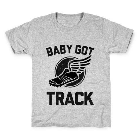 Baby Got Track (Dark tank) Kids T-Shirt