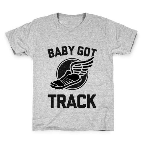 Baby Got Track (Dark tank) Kids T-Shirt