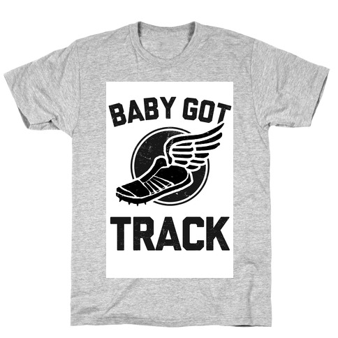 Baby Got Track (Dark tank) T-Shirt