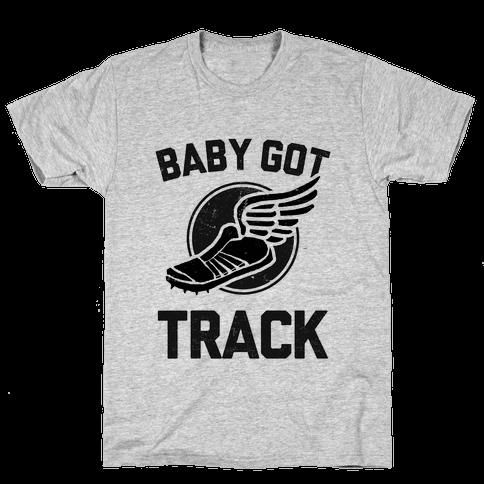 Baby Got Track (Dark tank) Mens/Unisex T-Shirt
