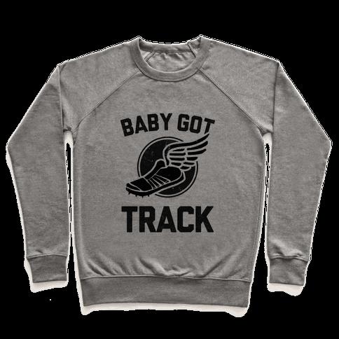Baby Got Track (Dark tank) Pullover