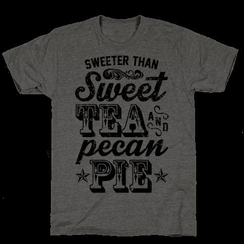 Sweet Tea And Pecan Pie