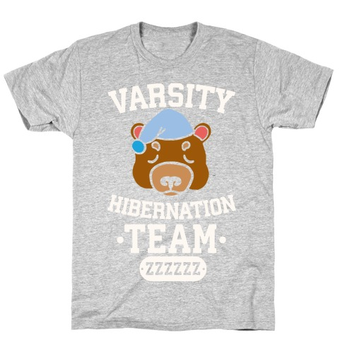 Varsity Hibernation Team T-Shirt