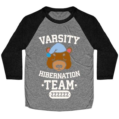 Varsity Hibernation Team Baseball Tee