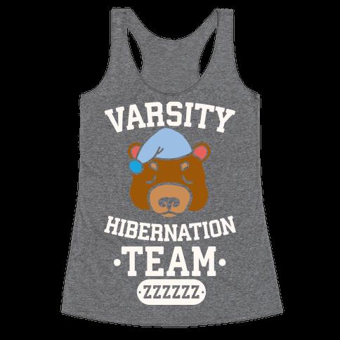 Varsity Hibernation Team Racerback Tank Top