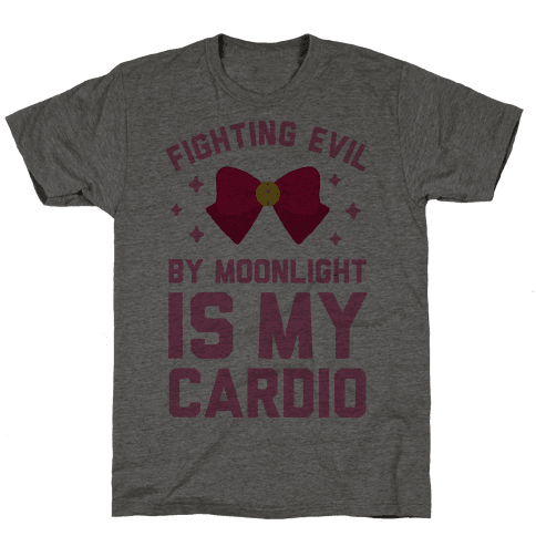 My Cardio is Fighting Evil by Moonlight