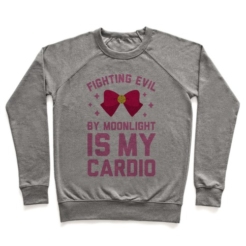My Cardio is Fighting Evil by Moonlight Pullover