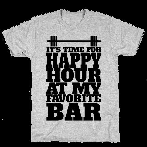 Happy Hour At My Favorite Bar Mens T-Shirt
