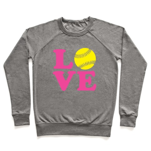 Love Softball Pullover