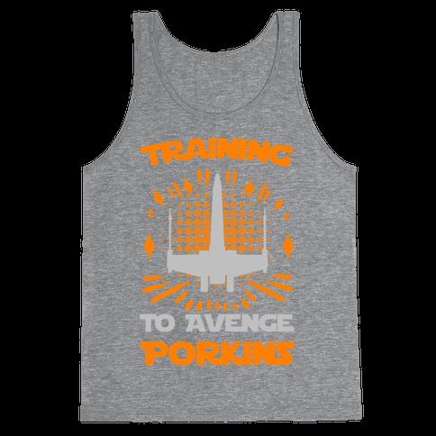 Training to Avenge Porkins Tank Top