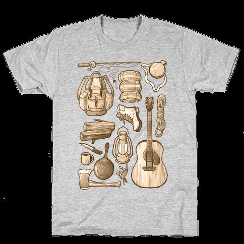 Camping Gear Mens T-Shirt