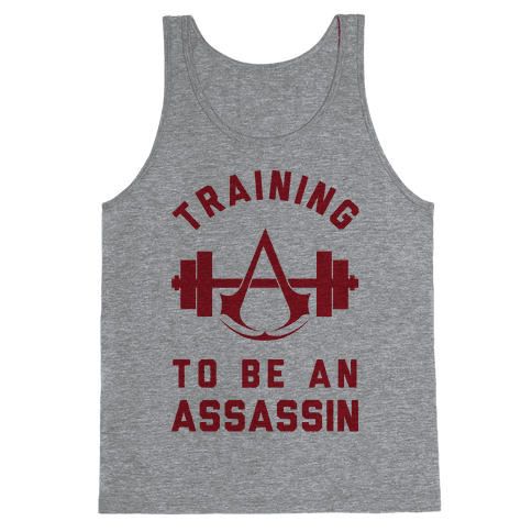 Training To Be An Assassin Tank Top