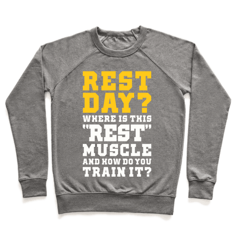 Where Is This Rest Muscle Pullover