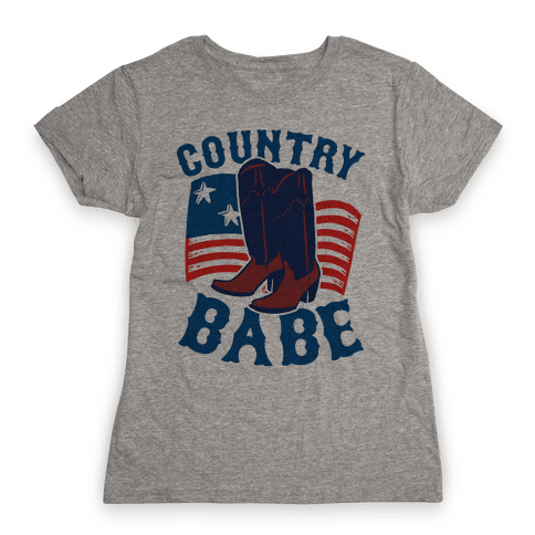 Country Babe Womens T-Shirt
