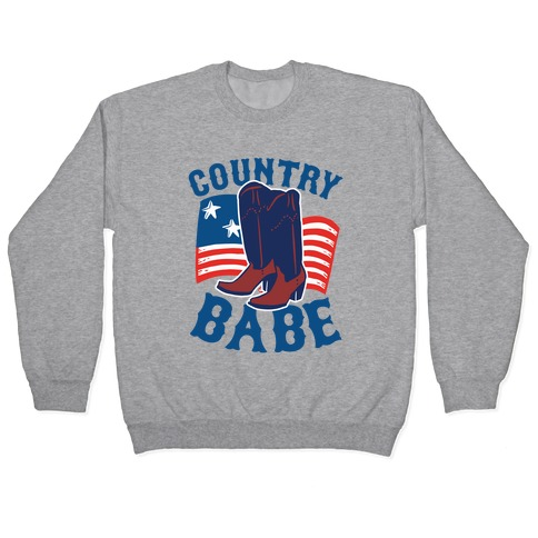 Country Babe Pullover