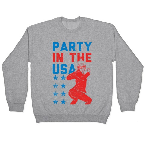 Party In The USA Uncle Sam Pullover