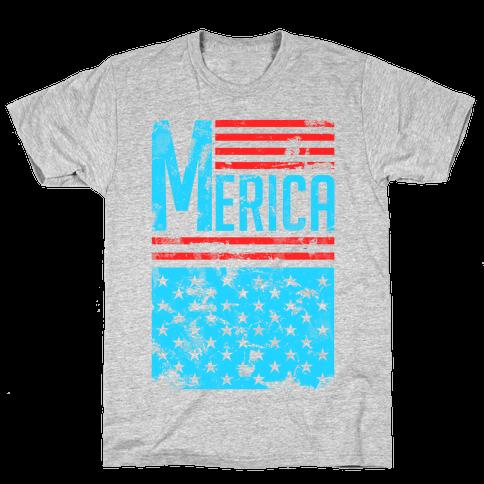 Merican Pride Mens/Unisex T-Shirt