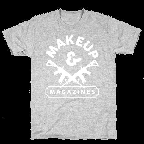 Makeup And Magazines Mens T-Shirt