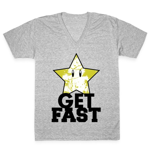 Nerd Run V-Neck Tee Shirt