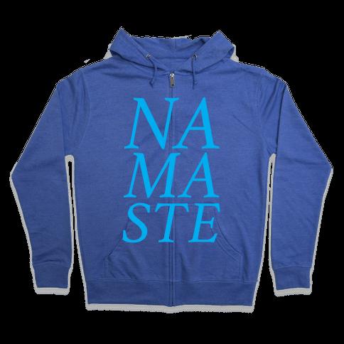 Namaste Zip Hoodie