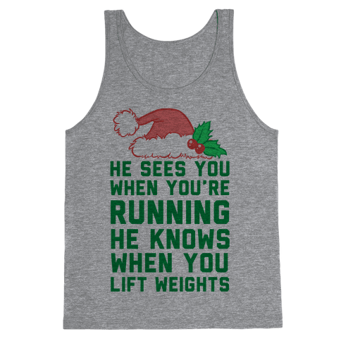 He Sees You Tank Top