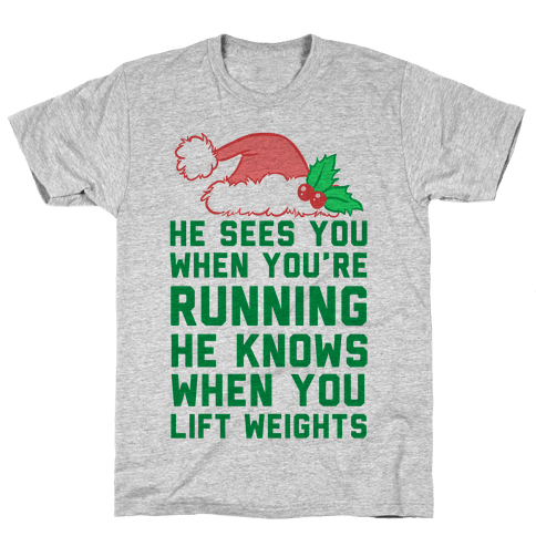 He Sees You Mens T-Shirt