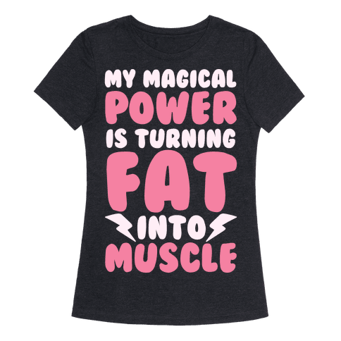 My Magical Power Is Turning Fat Into Muscle