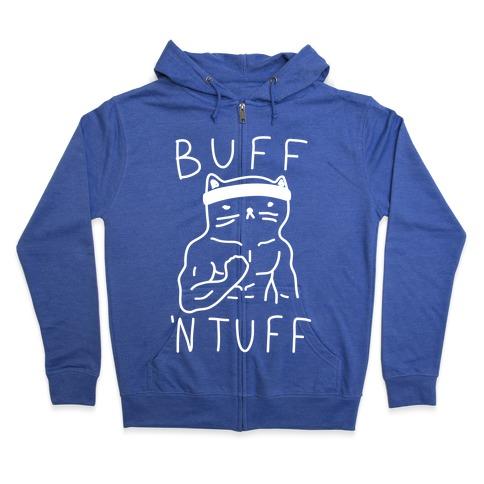 Buff 'N Tuff Cat Zip Hoodie
