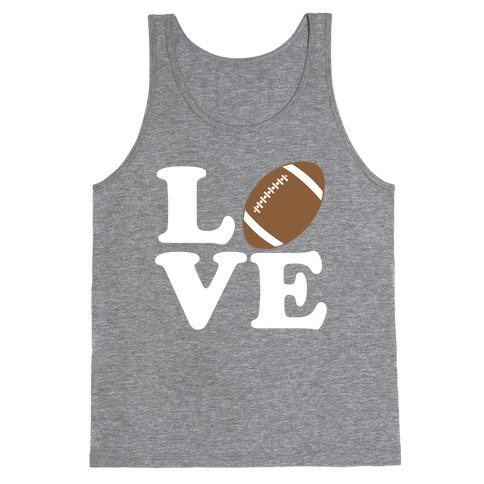 Love Football Tank Top