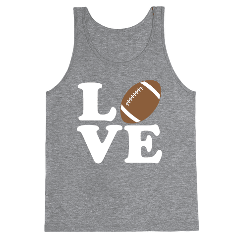 Love Football Tank Top