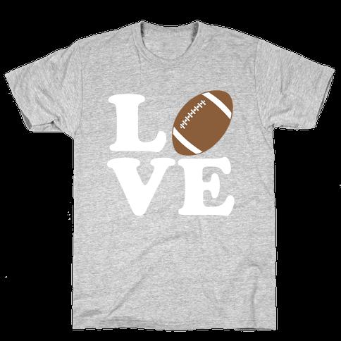 Love Football Mens T-Shirt
