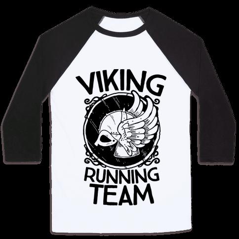 Viking Running Team Baseball Tee