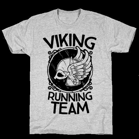 Viking Running Team Mens T-Shirt