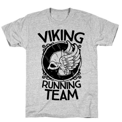 Viking Running Team Mens/Unisex T-Shirt