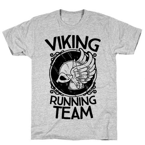 Viking Running Team Mens T-Shirt