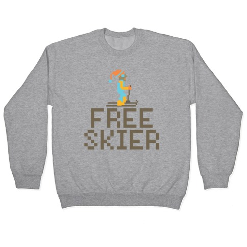 Free Skier Forever Pullover