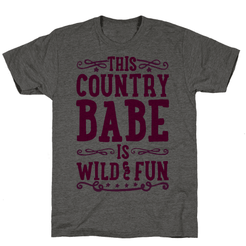 This Country Babe Is Wild and Fun