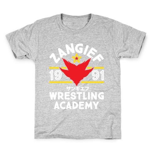 Zangief Wrestling Academy Kids T-Shirt