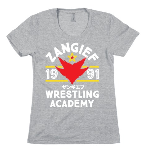 Zangief Wrestling Academy Womens T-Shirt