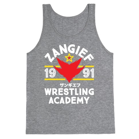 Zangief Wrestling Academy Tank Top