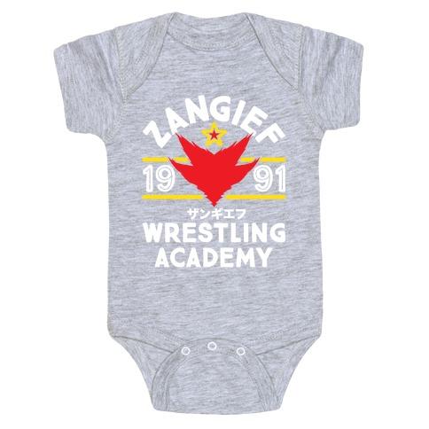 Zangief Wrestling Academy Baby Onesy