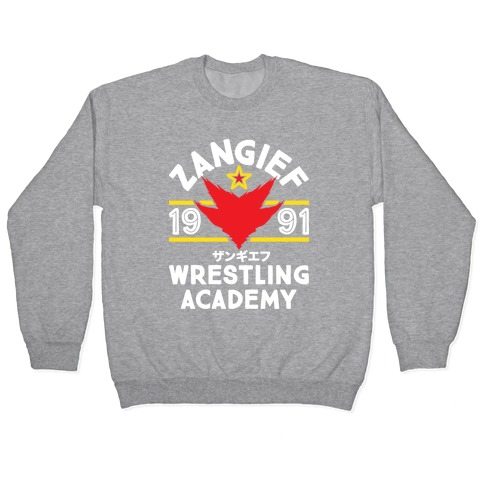 Zangief Wrestling Academy Pullover