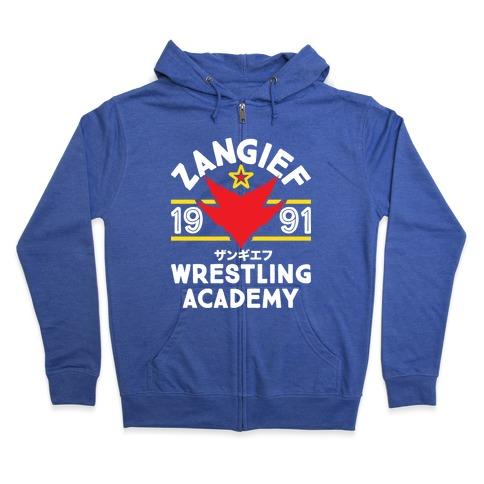 Zangief Wrestling Academy Zip Hoodie