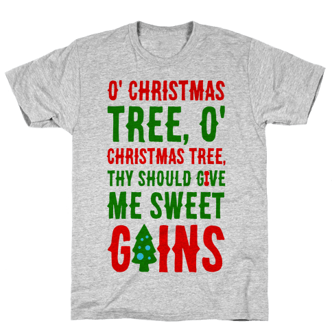 O' Christmas Tree Thy Should Give Me Sweet Gains