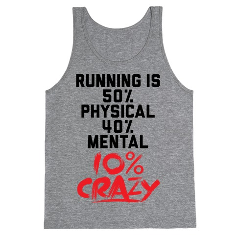 Running Is Crazy Tank Top