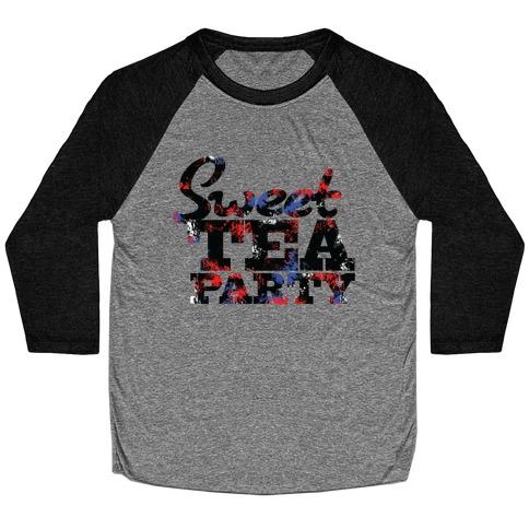 Sweet Tea Party Baseball Tee