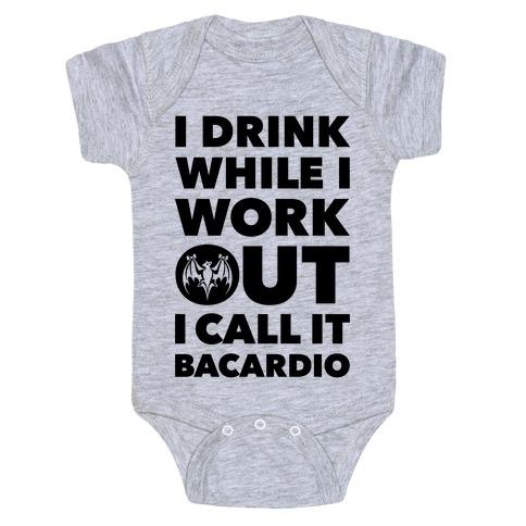 Bacardio Baby Onesy
