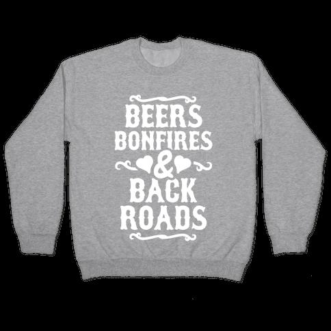 Beers, Bonfires & Backroads Pullover